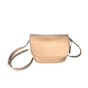Coach Vintage Bonnie Cashin Era Leather Saddle Bag